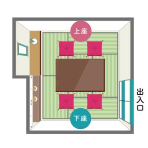 床の間・床脇棚ありの和室2
