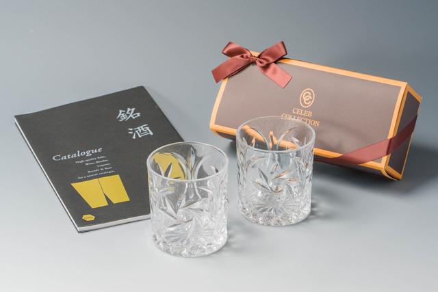 銘酒カタログ&グラスのお酒コンセプトの引き出物セット