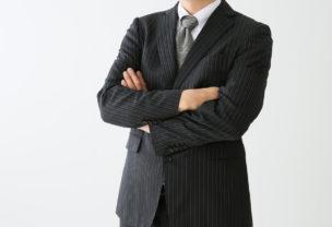 スーツ姿の上司