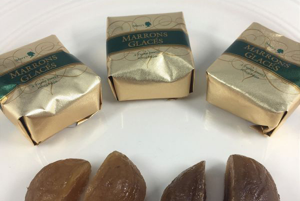メリーチョコレート「マロングラッセ」