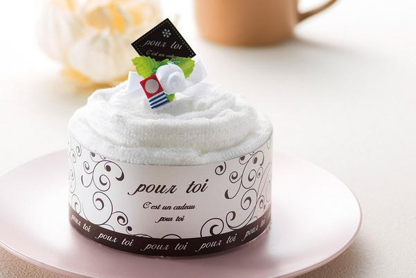 今治タオル「プルトワホワイトケーキタオル」