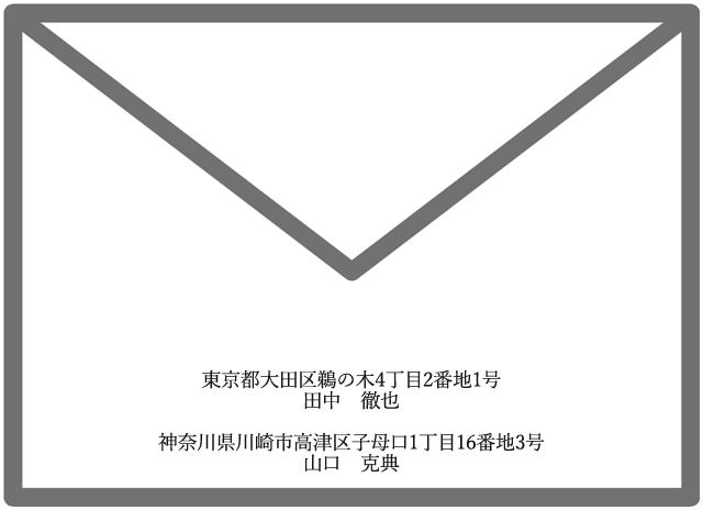 招待状の差出人・両親名義