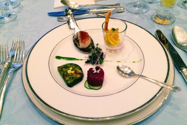 結婚式の前菜
