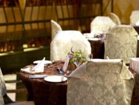 結婚式の丸テーブル