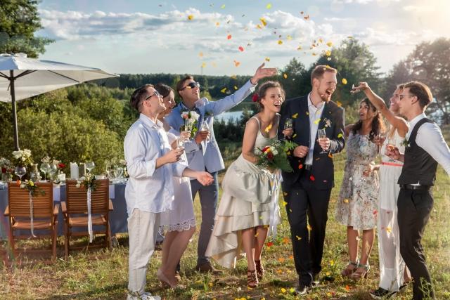海外の結婚パーティー
