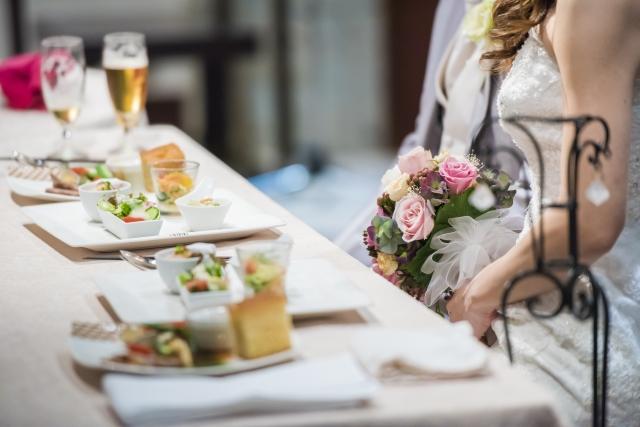 結婚式のお料理