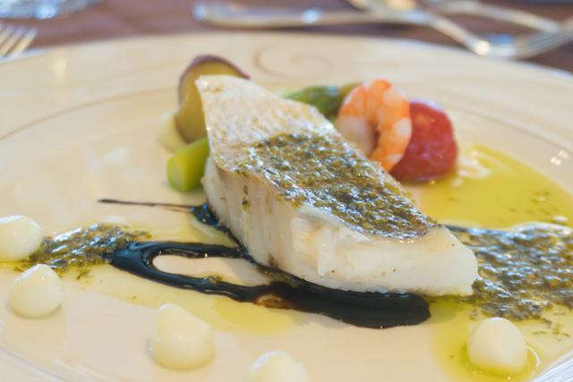 披露宴の魚料理