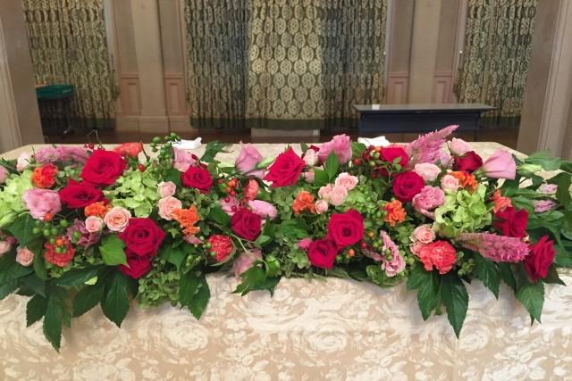 高砂の豪華な花