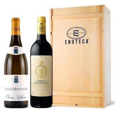 フランス産紅白ワインギフトセット(ボルドー&ブルゴーニュ)