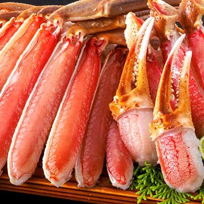 匠本舗「【北海道産】生北海松葉がに半むき身セット2kg超」