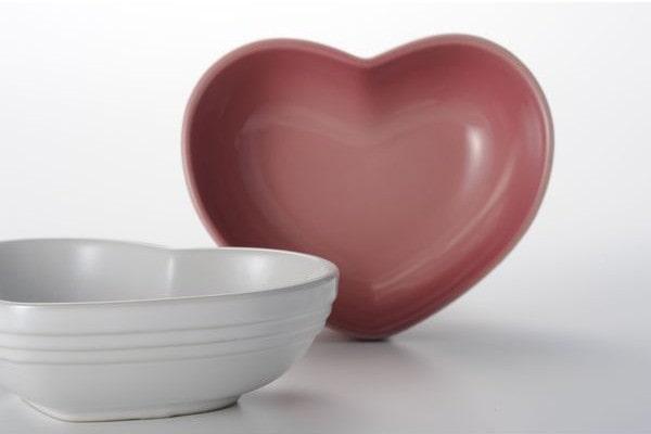 ル・クルーゼのハート小皿