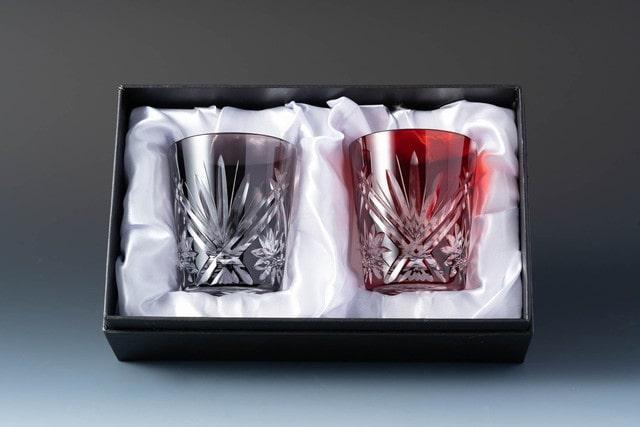引き出物のペアグラス