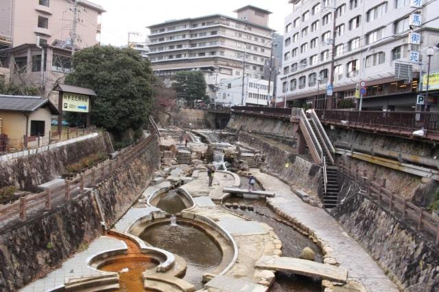 有馬温泉の有馬川