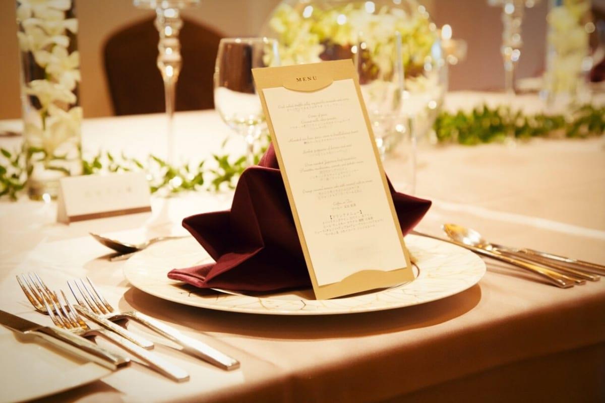 結婚式の食事会