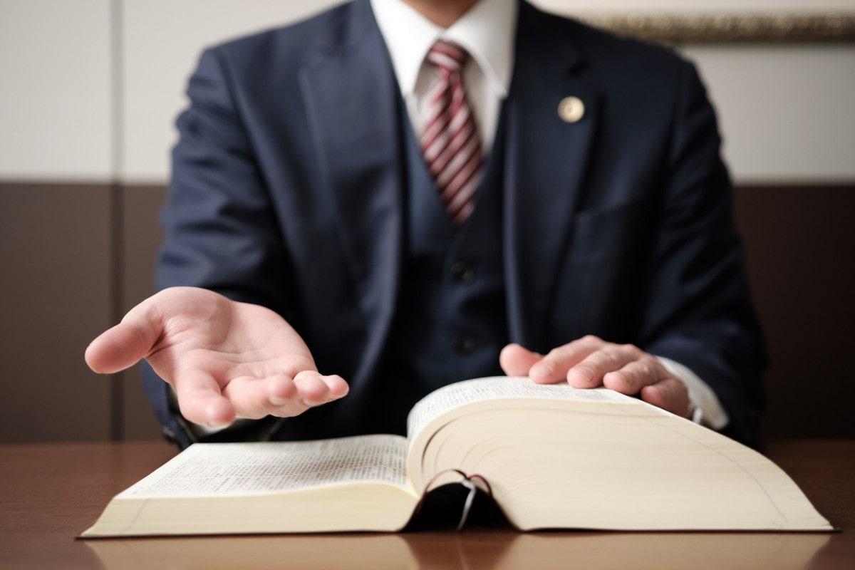 救いの手を差し伸べる弁護士