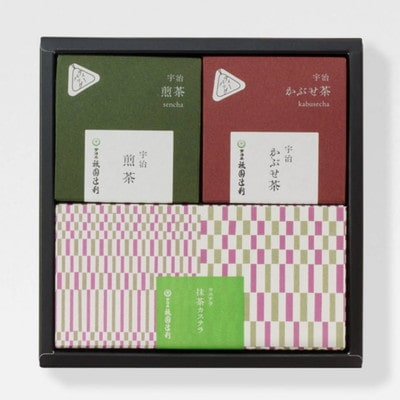 宇治茶・抹茶菓子詰め合わせ(京都辻利)