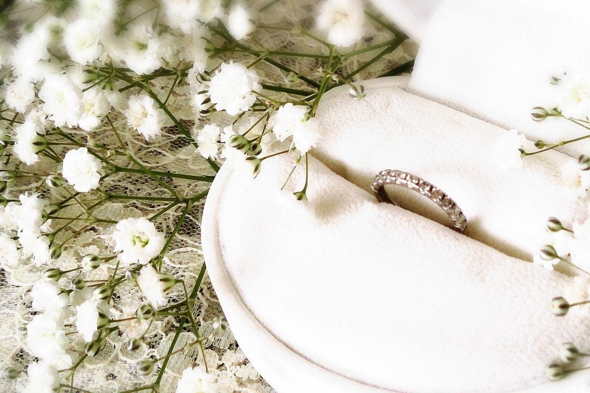 フルエタニティの結婚指輪