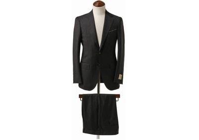CARLO BARBERA ブラックスーツ