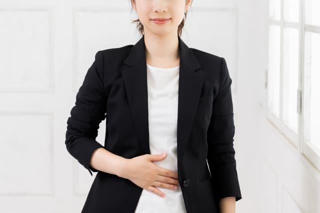 妊娠した女性