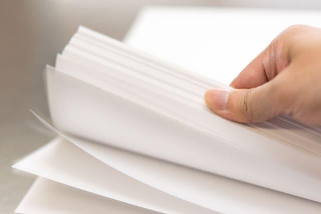 デザイン婚姻届 用紙