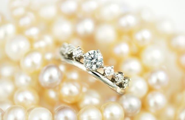 パールの結婚指輪
