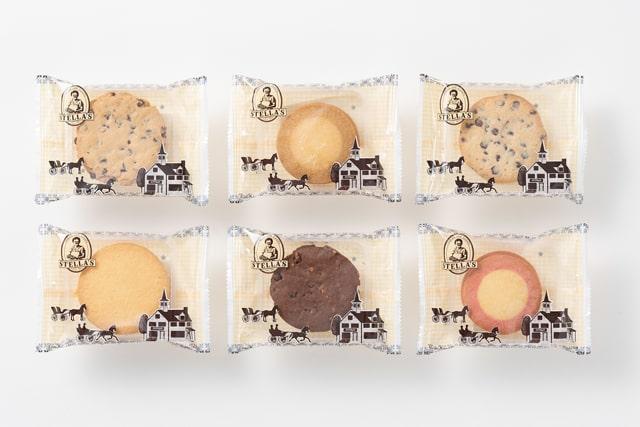 個包装のクッキー(ステラおばさんのクッキー)