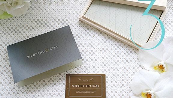 引き出物カード「e-order choice Wedding」