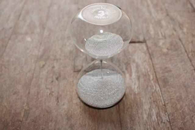 3分の砂時計