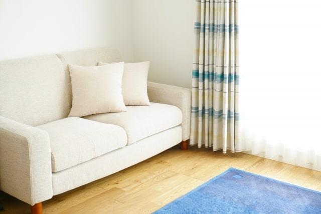真新しいソファ