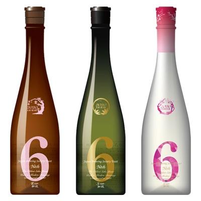 新政酒造「NO.6(ナンバーシックス)」