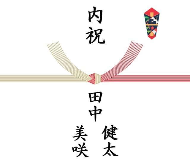 結婚内祝いの熨斗「入籍後」