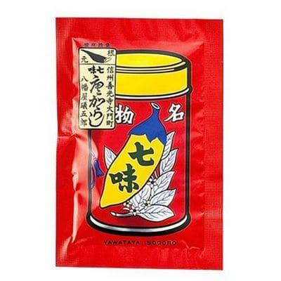 八幡屋礒五郎「七味◎袋 8g」