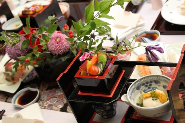 和食の披露宴のお料理