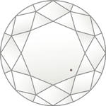 ダイヤモンドのクラリティ評価「VVS1-VVS2」