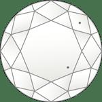ダイヤモンドのクラリティ評価「VS1」