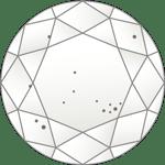 ダイヤモンドのクラリティ評価「SI1」