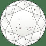 ダイヤモンドのクラリティ評価「SI2」