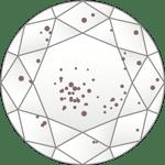 ダイヤモンドのクラリティ評価「I1-l3」