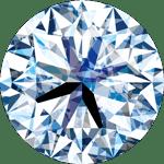 ダイヤモンドのカット評価「Excellent」