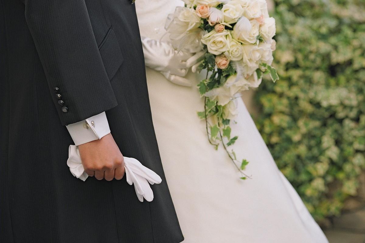 冬の結婚式イメージ