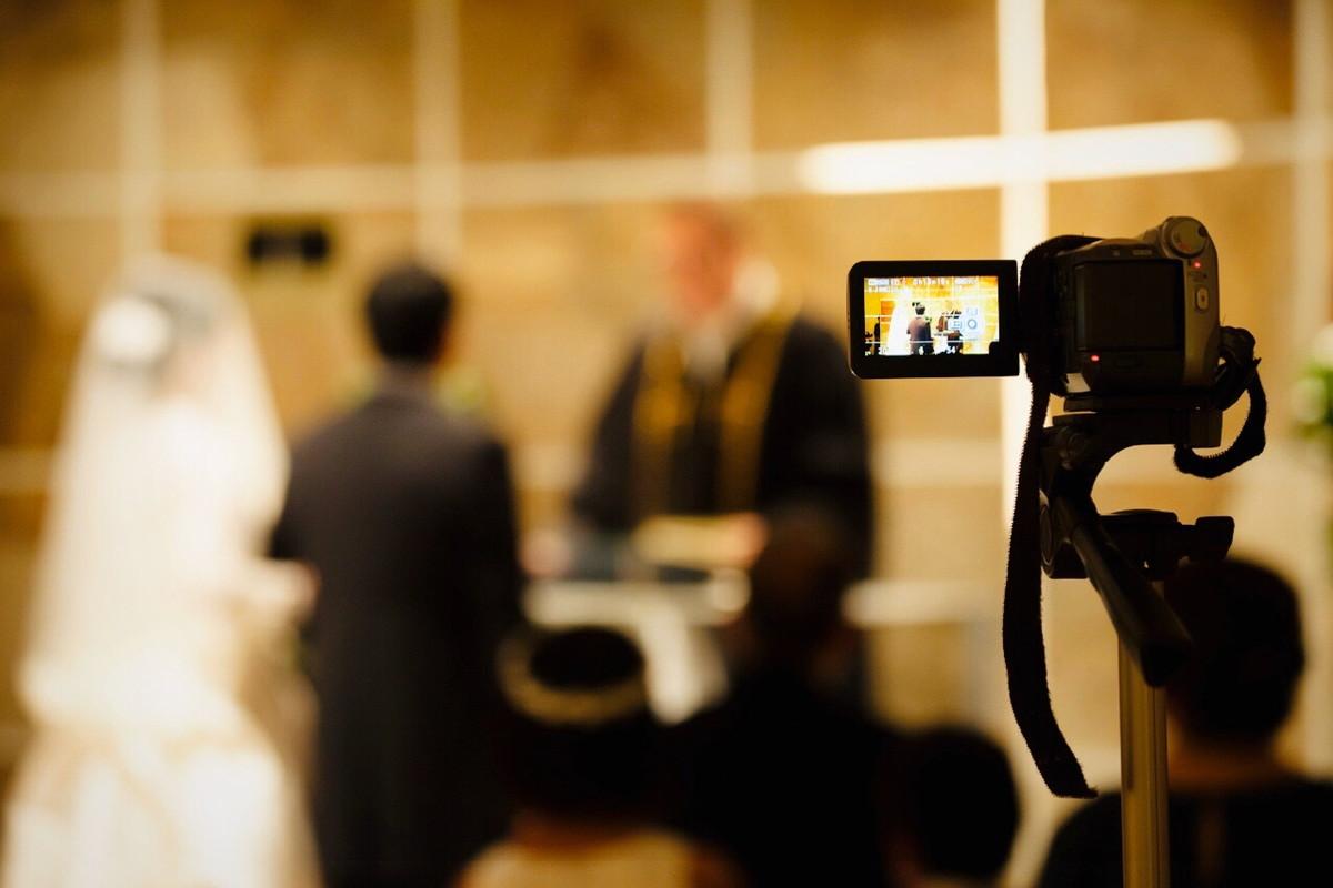 挙式のカメラ