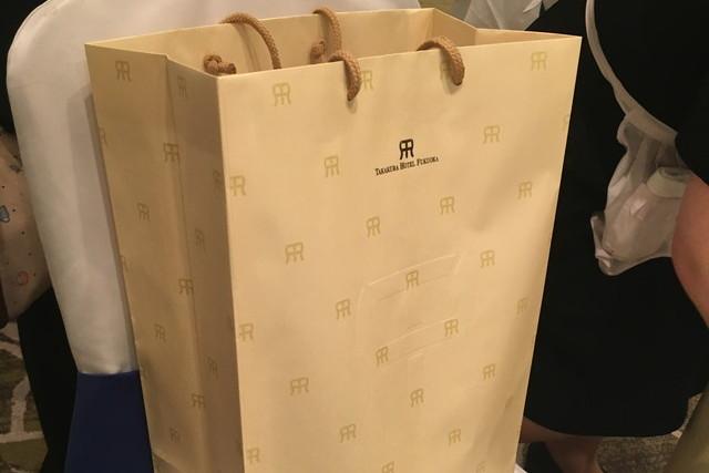 ちーしーさんの貰った引き出物袋