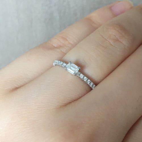 フクコさんの婚約指輪(カルティエ)