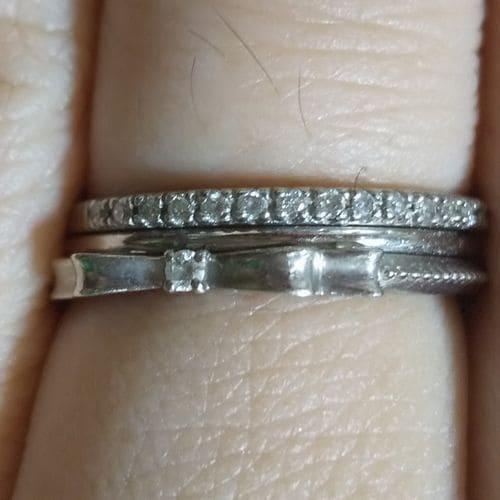 いなようさんの婚約指輪指