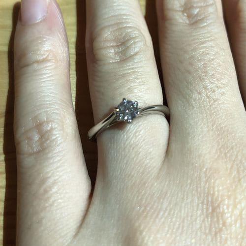 ririkaさんの婚約指輪