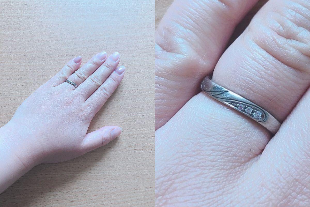 りんりんさんの結婚指輪の口コミ