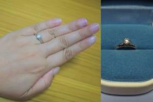 Kともみさんの結婚指輪と婚約指輪 (銀座ダイヤモンドシライシ) の口コミ