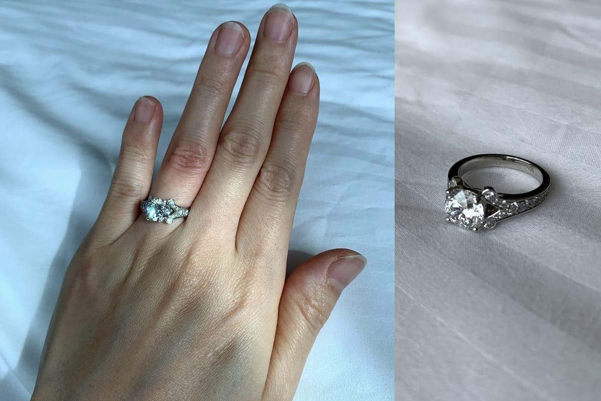 SAさんの結婚指輪と婚約指輪(GULF STAR GEMS) の口コミ