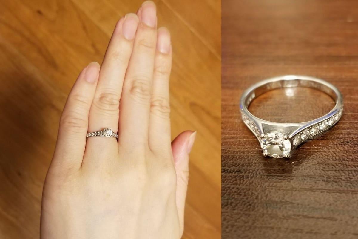 るしいるさんの結婚指輪(ティファニー)と婚約指輪(ヴァン クリーフ&アーペル) の口コミ