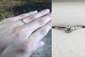 hontoさんの結婚指輪(CRAFY)と婚約指輪(ラザールダイヤモンド) の口コミ
